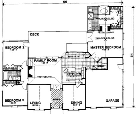 56 sq ft european style house plan 3 beds 2 baths 2006 sq ft plan