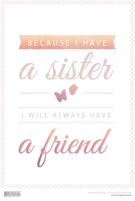 printable quotes sisters free printable sister quote 5 tips for celebrating