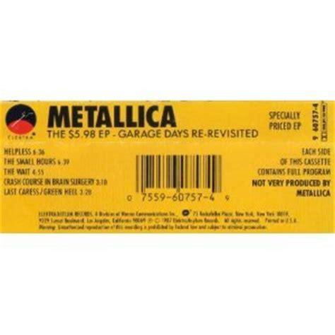 metallica garage days re revisited