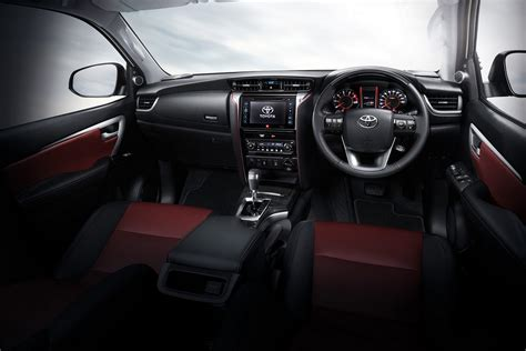 Interior Accessories You Got A Suave Attitude by New Toyota Fortuner Trd Sportivo Is A Hilux Suv With