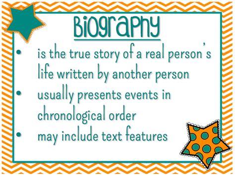 biography features genre biography mrs strader s website