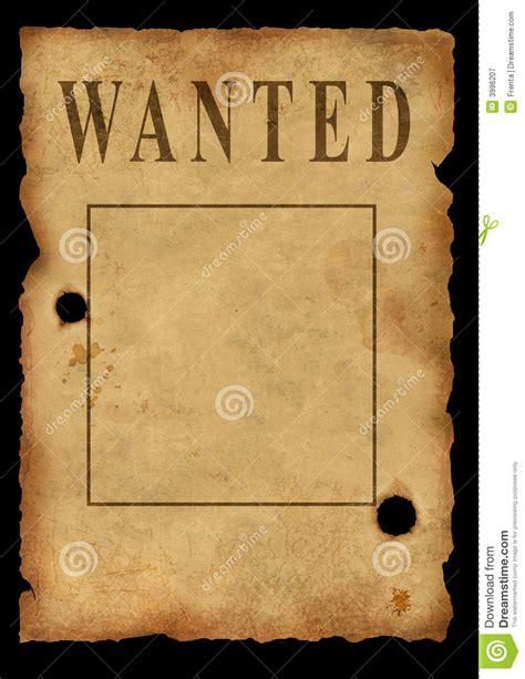 plakat gestell der wilde westen das plakat lizenzfreie stockfotografie
