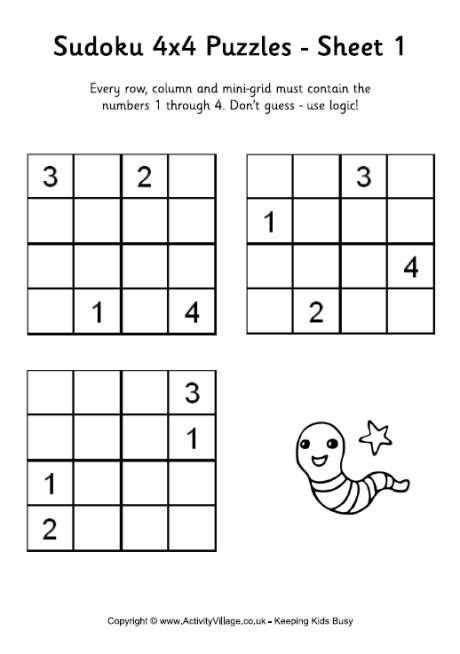 printable sudoku worksheets puzzles printable printable
