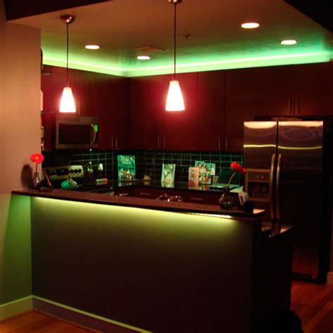 Led Lighting Strips For Home Rgb Led Kitchen Using Led Lights