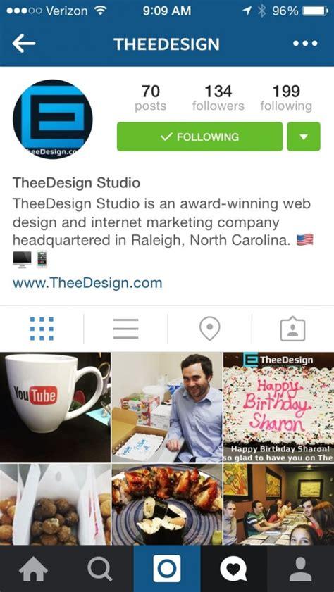 design instagram profile instagram 101 for business owners