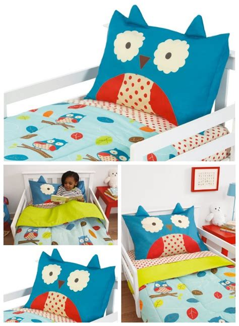 skip hop bedding skip hop 4 piece toddler bedding set owl 33 59 reg