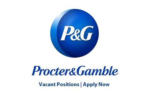 pg procter gamble jobs september