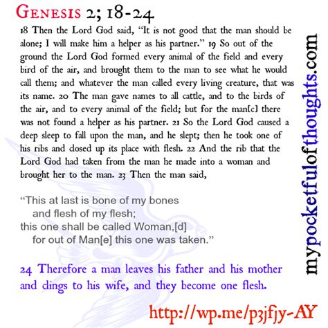 book of genesis 2 18 24 has marriage become another hallmark