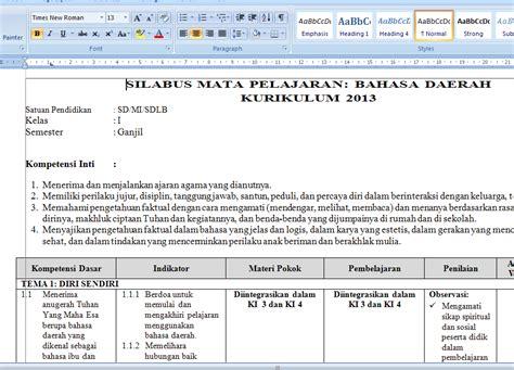 format b1 adalah promes kelas 2 kurikulum 2013 download pdf