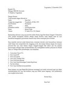 contoh surat lamaran kerja di rumah sakit wisata dan info sumbar