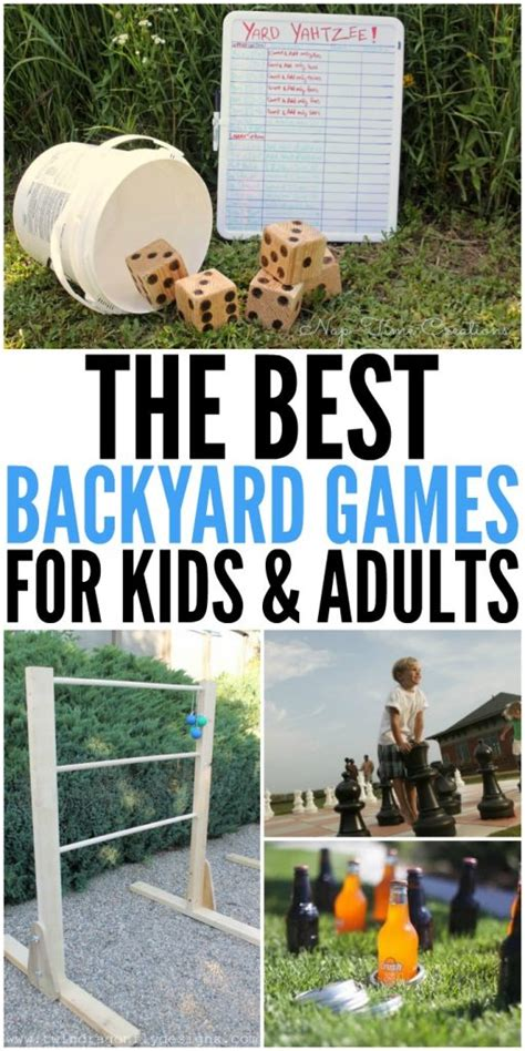 best backyard games for adults best backyard games for kids and adults