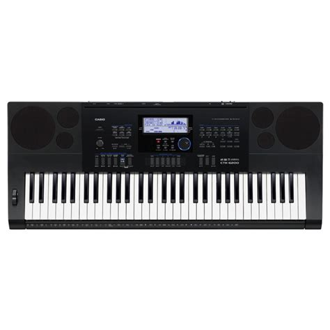 Keyboard Casio casio ctk 6200 portable keyboard at gear4music