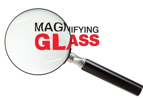 magnifying glass   vector art stock graphics images