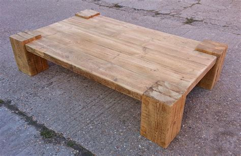 Coffee Tables: Reclaimed Timber & Character Oak