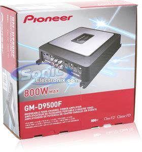 Power 4channel Gm D9500f Range Class D Pioneer Gm D9500f Gmd9500f 800w Max Class Fd 4 Channel