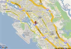 map oakland california map of san francisco days inn oakland airport coliseum
