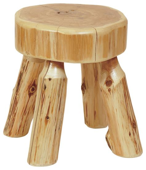 Rustic Vanity Stool cedar stool small rustic vanity stools and benches