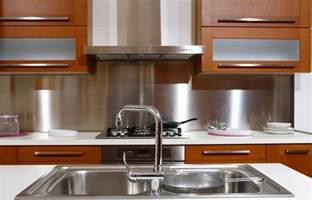 Kitchen With Stainless Steel Backsplash The Advantages Of Stainless Steel Kitchen Sinks