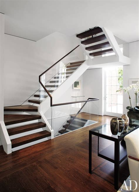 modern staircase modern staircase hallway by jacobsen architecture ad