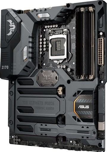 Asus Sabertooth Z170 S Lga1151 Z170 Ddr4 asus tuf sabertooth z170 1 atx motherboard lga1151 ddr4 displayport hdmi m 2 usb 3 1 z170