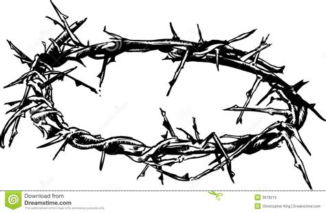 crown of thorns vector illustration stock photos image