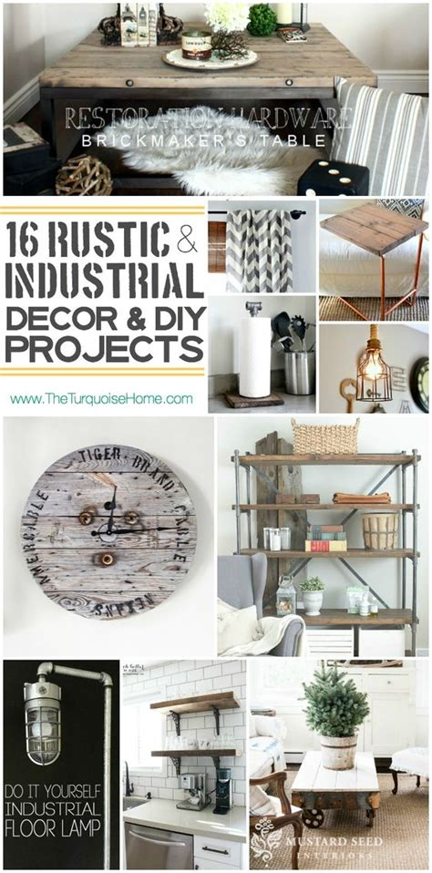 industrial diy projects style trend 16 rustic industrial decor ideas and diy