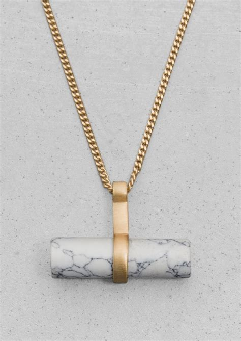 Marble Necklace beautiful marble jewellery jewellery