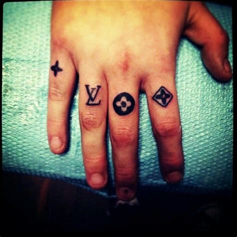 louis vuitton tattoo louis vuitton logo www pixshark images