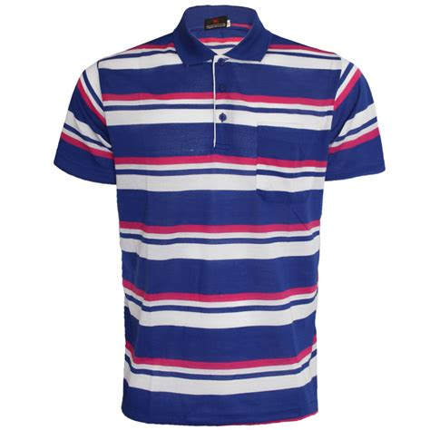 Mens Shirt Polo Blue Stripes B Bross s polo shirt plain t shirt stripe sleeve shirt printed low price new ebay