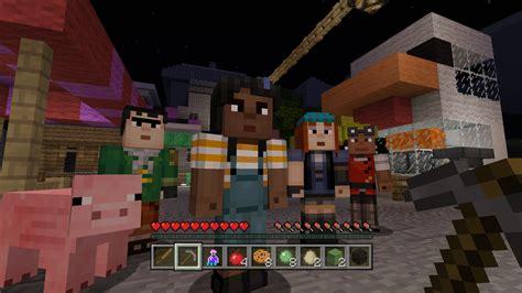 minecraft story mode minecraft gets minecraft story mode skins xbla fans