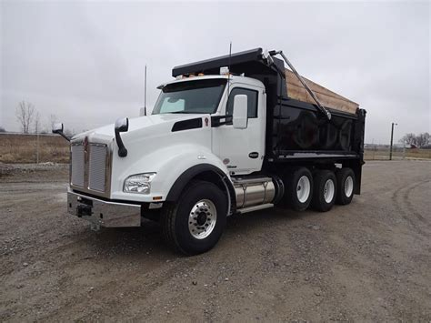 fort wayne truck kenworth dump trucks in indiana for sale used trucks on
