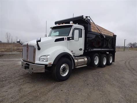 fort wayne truck kenworth dump trucks in indiana for sale used trucks on