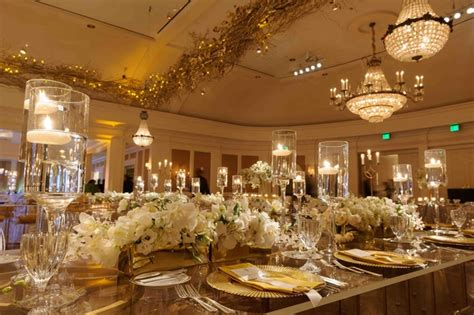Tree Branch Decorations In The Home lavish white amp gold country club wedding in houston texas