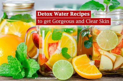 Clear Skin Detox Book by 13 Detox Water Recipes To Get Gorgeous And Clear Skin