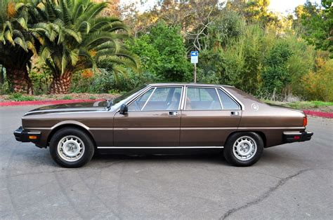 how to sell used cars 1984 maserati quattroporte electronic throttle control 1984 maserati quattroporte information and photos momentcar