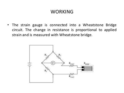 wheatstone bridge how it works strain