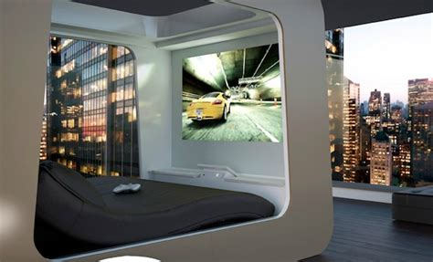 bed tech hi can high fidelity canopy bed with cinema and xbox