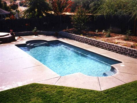 Backyard Pools Seattle Aqua Quip Viking Acapulco In Ground Swimming Pool