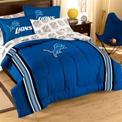 detroit lions bedding nfl bed in a bag