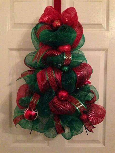 christmas tree deco mesh wreath floral wreaths etc