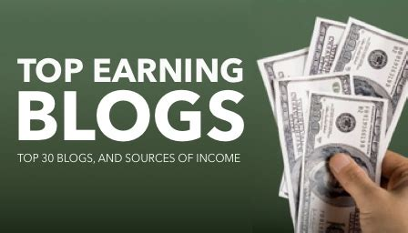 Making Money Online Blogs - top earning blogs make money online blogging flex part time jobs