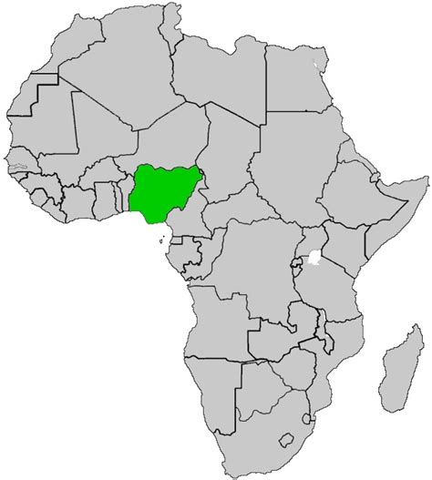 africa map nigeria 1000 ideas about map of nigeria on nigeria