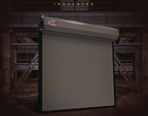 Roll Up Insulated Overhead Doors Rolling Steel Doors Rice Equipment Co Loading Dock Door Service