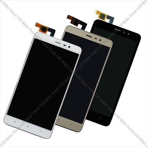Lcd Xiaomi Redmi 3 3s 3pro Complete Touchscreen redmi note 3 display and touch screen glass combo with