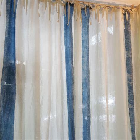 le tende per la casa tende per la casa in puro lino collezione panarea