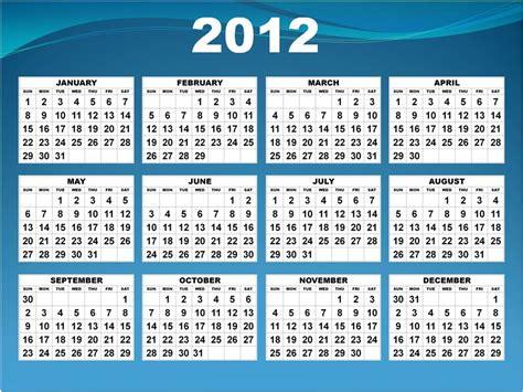 printable yearly calendars 2012 free printable 12 month calendar 2012 calendar template 2016