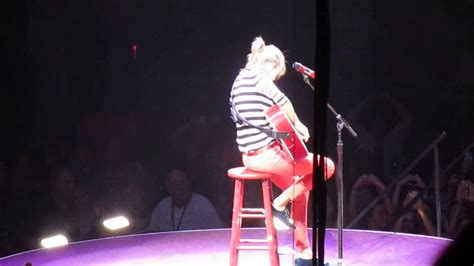 taylor swift enchanted live red tour taylor swift red tour louisville enchanted youtube