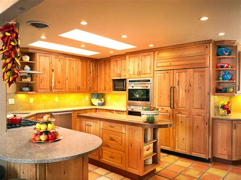 Southwest Kitchen Design Southwest Knotty Cherry Kitchen Southwestern Kitchen Albuquerque By Marc Coan