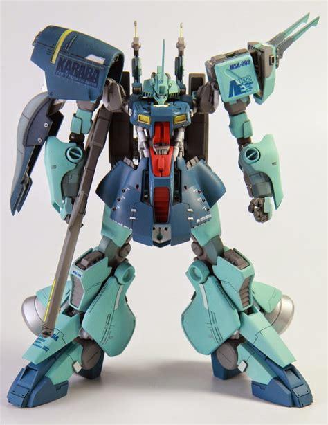 Bandai Re Dijeh Gundam Model Kit custom build 1 144 msk 008 dijeh gundam kits collection