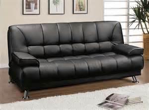 Black Futon Sofa Black Futon Sofa With Arms